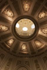ウィーン自然史博物館 Naturhistorisches Museum (天井ドームの装飾)