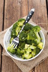 Cooked Broccoli