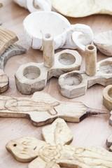 Wooden salt shaker