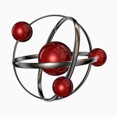 3 D atom