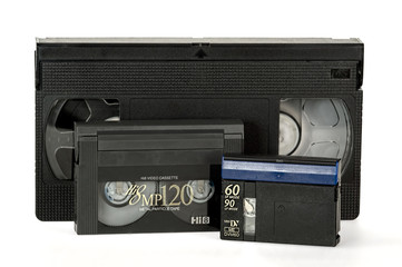 Old video tape formats