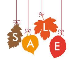 4 Autumn Leaves Sale