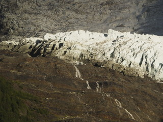 Los Alpes junto a Chamonix (Francia)