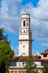 Bell Tower of Verona Cathedral - Italy