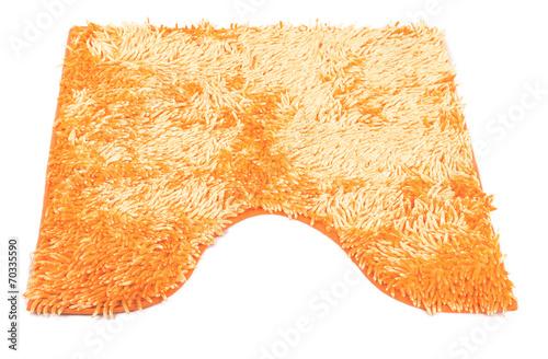 orange carpet fabric background - 70335590