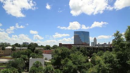 Orlando Skyline Shot Three sunny day time shoot