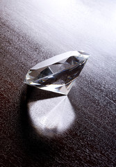 Still Life of Large Shiny Diamond