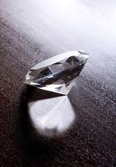 Still Life of Large Shiny Diamond