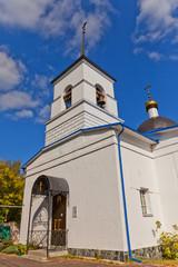 Nativity of the Theotokos church (1836). Osechenki, Russia