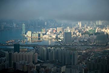 Cloudy day in Hongkong