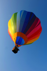 colorful hot air balloon in the sky 2