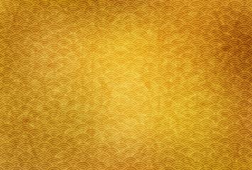 波紋 年賀状 背景