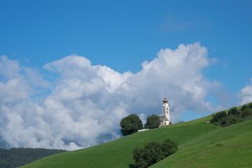 Chiesa di montagna in Alto adige