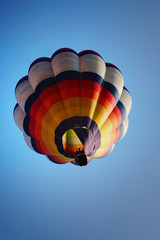 colorful hot air balloon in the sky 1