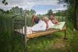 canvas print picture - Die Sonnenseiten im Leben