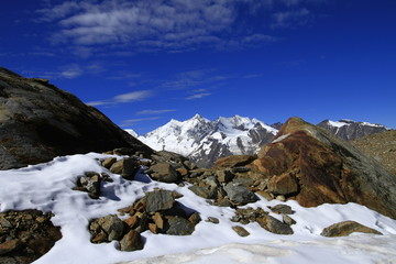 Berglandschaft, Schweiz, Wallis, Hohsaas