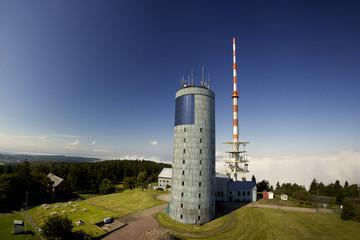 Blick auf den Inselsberg im Thüringer Wald