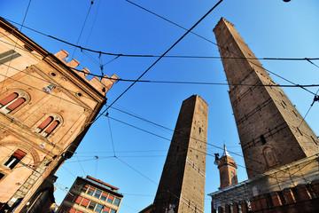 Bologna, le torri di Asinelli e Garisenda