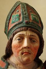 Saint Vitus portrait sculpture