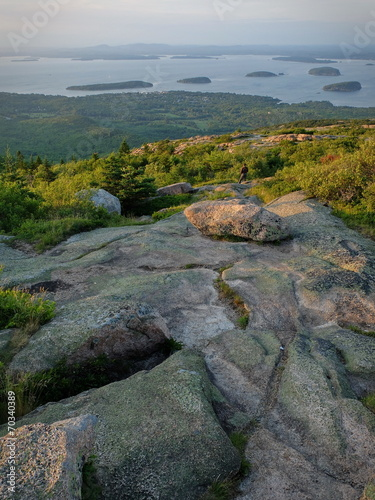 Leinwanddruck Bild Maine Cadillac Mountain 4
