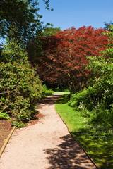 Garden- Fyvie Castle -Aberdeenshire- Scotland
