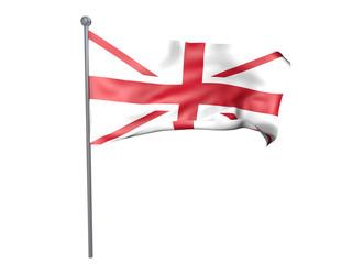 Drapeau royaume uni sans l'Ecosse