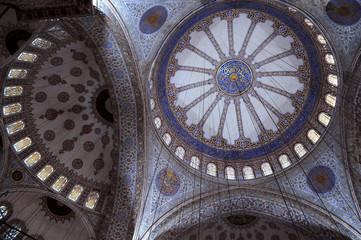 Fragment of Blue Mosque Interior