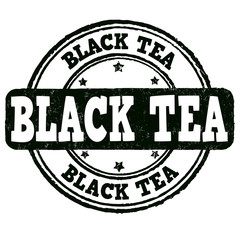 Black tea stamp