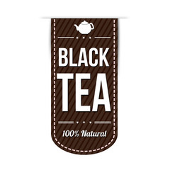 Black tea banner design