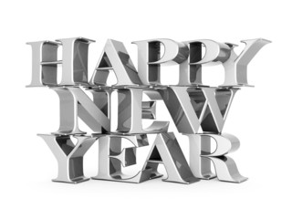 happy new year Illustrations 3d