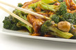 Sauteed Mixed Chinese Vegetables with Tofu - 70344371