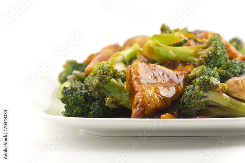 In de dag Buffet, Bar Sauteed Mixed Chinese Vegetables with Tofu