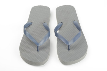 Chanclas de color gris