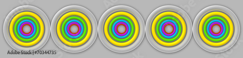 Naklejka 3d Abstract Design