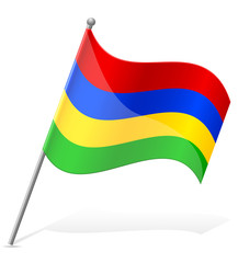 flag of Mauritius vector illustration