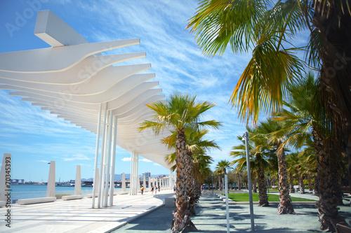 View of the promenade of Málaga - 70345393