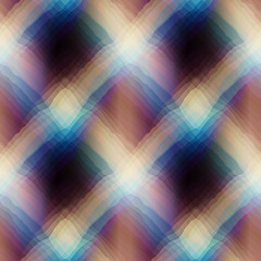 Diagonal abstract plaid.