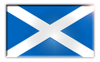 Flag of Scotland Emaille Plate