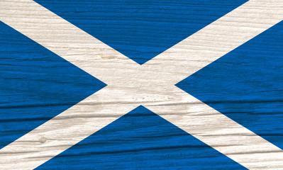 Wooden Falg of Scotland