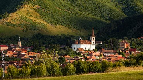 Papiers peints Europe de l Est Rasinari Village in Sibiu, Transylvania Romania
