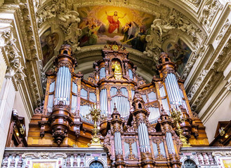 Berliner Dom Interior Orgel