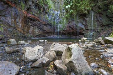 Levada-Wandern auf Madeira, Portugal