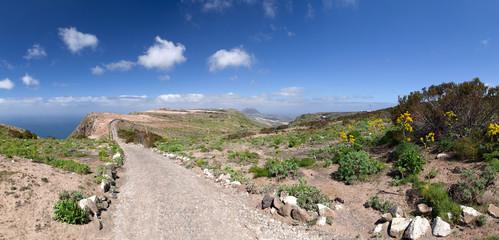 Lanzarote - Wanderweg vom Mirador del Bosquecillo nach Haria