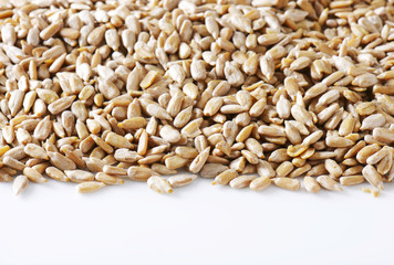 Raw sunflower seed