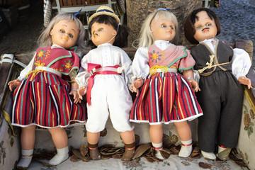 Folklorepuppen, Madeira