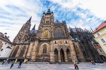 チェコ 聖ヴィート大聖堂 St.Vitus Cathedral Prague