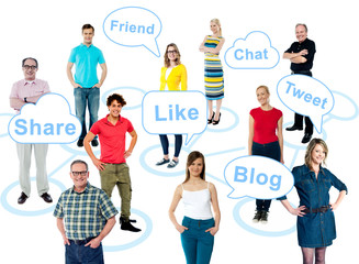 Social media is taking over the world