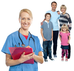 Family doctor keeps you safe and sound