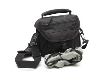bag on the white background
