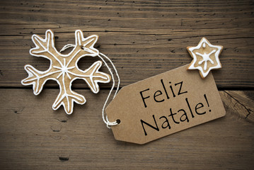 Portuguese Christmas Greetings with Ginger Breads